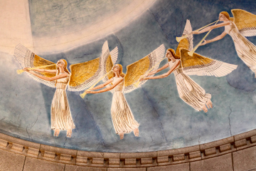 Angels in Portugal Church