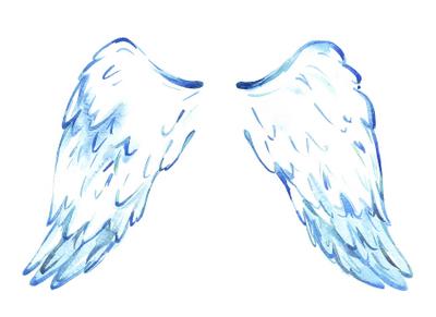 Angel Wings Clip Art | New Calendar Template Site
