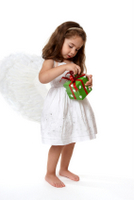 Girl Angel with Gift