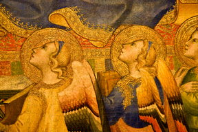 Detail of Two Angels