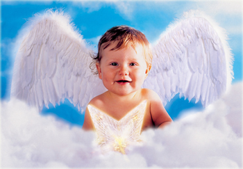 Baby Angel Image