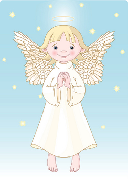Baby Cartoon Angel