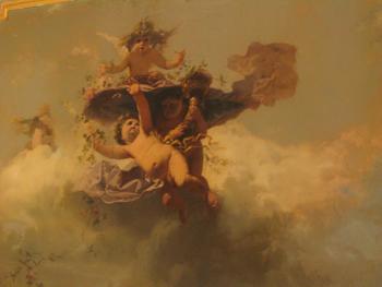 Cherub Painting