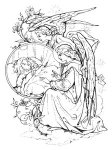 Drawing of Guardian Angels
