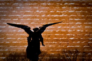 Outstretched Wings of an Angel
