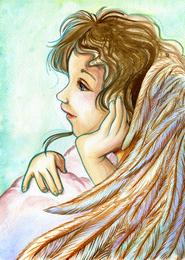 Baby Angel Art